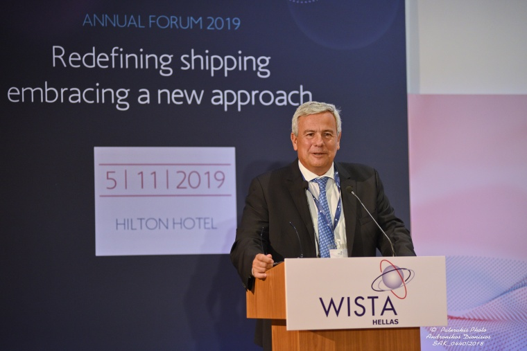 "WISTA HELLAS Annual Forum 2019: ""Redefining Shipping – Embracing a New Approach"""