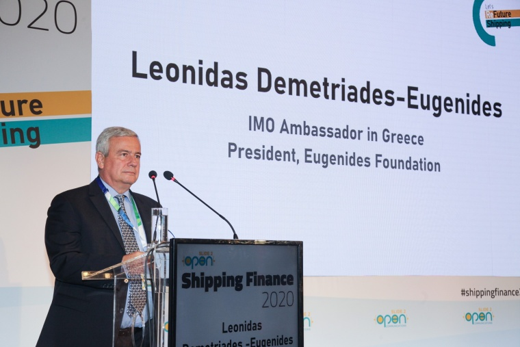 Speech at the Slide2Open, Shipping Finance 2020 conference
