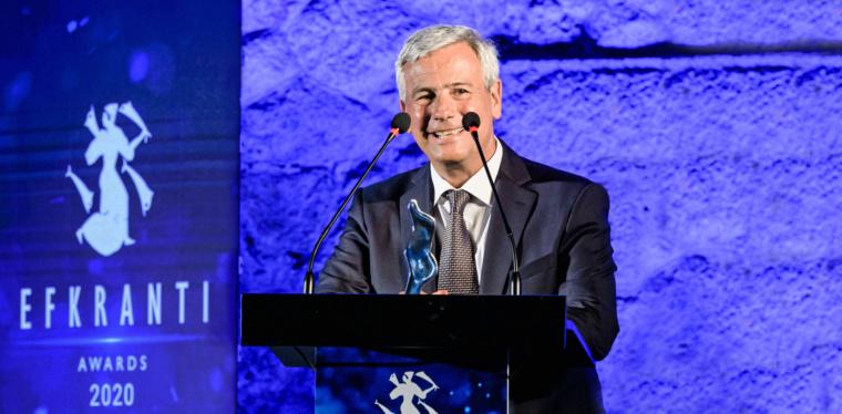 Στον Λεωνίδα Δημητριάδη‐Ευγενίδη το Βραβείο Ευκράντη 2020 «Συνολικής προσφοράς στη Ναυτιλία»